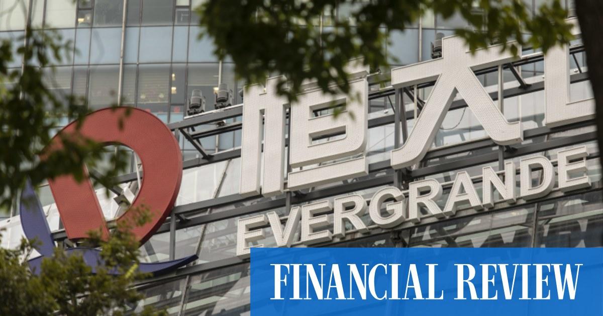 Evergrande unit to meet bond payments – The Australian Financial Review