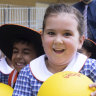 North Kellyville Public School, which opened last year, is fast filling its classrooms