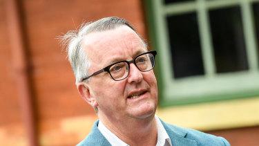 Health Minister Martin Foley.