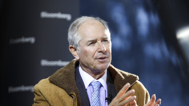 """""""You'll see a big V in terms of the economy going up for the next few months because it's been closed"""": Blackstone co-founder Stephen Schwarzman."""