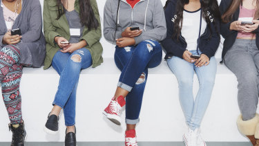 Today's teenagers use their phones more than they socialise in person.