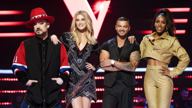 Guy Sebastian has joined Boy George, Delta Goodrem and Kelly Rowland as a Voice judge.