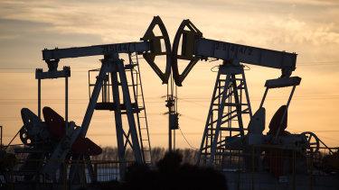 Oil prices tumbled again.