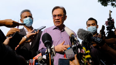 Anwar Ibrahim, founder and president of the People's Justice Party, wants to be prime minister of Malaysia.