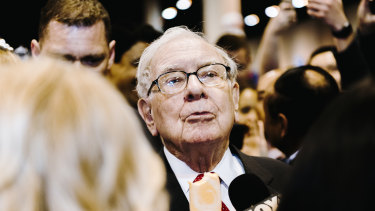 Prior to the IPO, Warren Buffett's Berkshire Hathaway committed to purchase $US250 million worth of stock at $US105 a share.