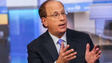 "Laurence ""Larry"" Fink, chairman and chief executive officer of BlackRock."