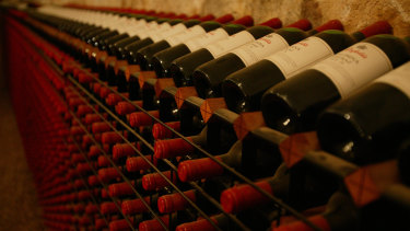 Shares in Treasury Wines are up on a Credit Suisse upgrade.
