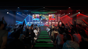 The Fortress e-sports stadium opening in Emporium Melbourne will cater to all audiences.