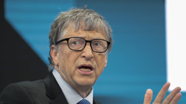 The world's third-richest person, Bill Gates, saw his fortune shrink by $US7 billion.