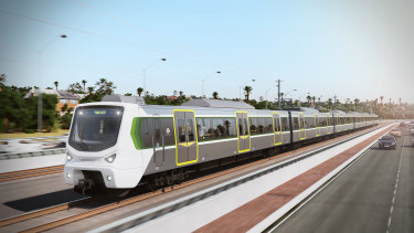 Half of the new C-Series trains will be built in Perth.