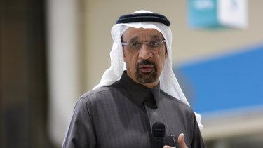 Saudi Arabian Energy Minister Khalid Al-Falih.