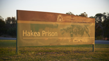 Hakea Prison in Canning Vale, Western Australia, where Ali Jasmin was jailed.