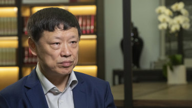 Hu Xijin, editor-in-chief of the Global Times.