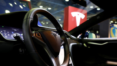 Tesla accounted for about 70 per cent of EV sales in Australia last year.