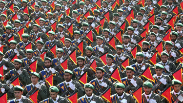 Iran's Revolutionary Guard.