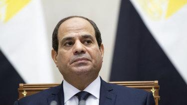 Egyptian President Abdel Fattah al-Sisi.