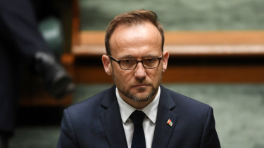 Australian Greens leader Adam Bandt says coal and gas should be phased out from Australia's energy mix by the end of the decade.