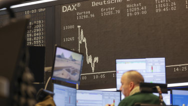 With Wall Street closed, European stocks took centre stage.