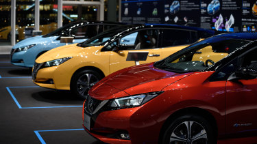 The Nissan Leaf is the world's best-selling electric vehicle.
