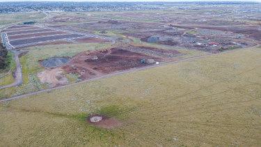 The grasslands.