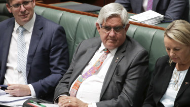Under pressure: Minister for Indigenous Australians Ken Wyatt on Monday.
