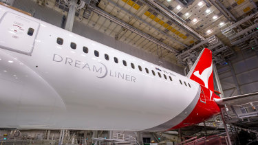 Qantas has been adding 787 Dreamliners to its fleet and is looking at the 777X-8.