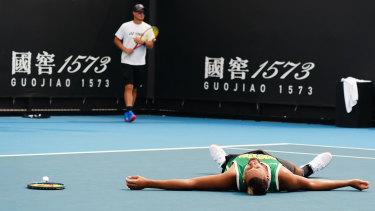 Kyrgios kicks off his Australian Open campaign on Tuesday.