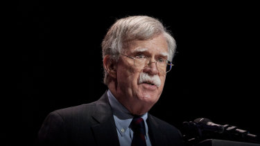 US national security advisor John Bolton.