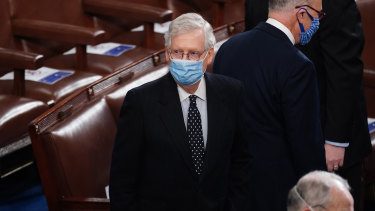 Senate Majority Leader Mitch McConnell said there would be no more  objections to the election of Joe Biden.