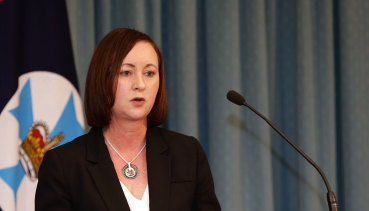 Queensland Attorney-General Yvette D'Ath.