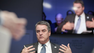 Former WTO director-general Roberto Azevedo made a surprise announcement in May that he would leave the job a year early.