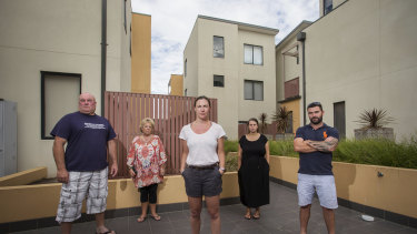 Residents of the Frankston South building.