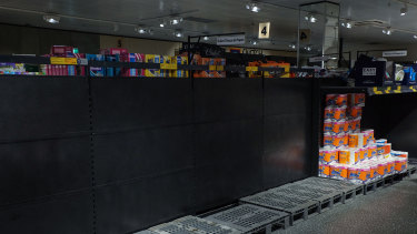 Supermarket shelves have been stripped bare all over the world as shoppers race to buy up staples.
