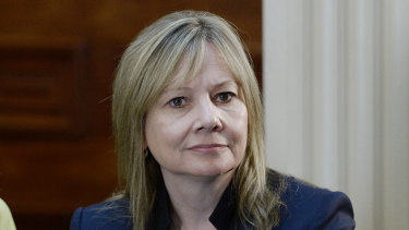 Mary Barra, chairwoman and chief executive officer of General Motors.