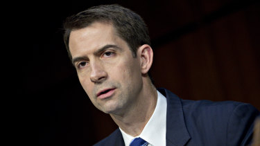 Senator Tom Cotton, a Republican from Arkansas.