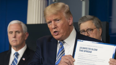 US President Donald Trump's daily White House coronavirus briefings can now last up to two hours.