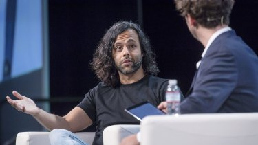 Robinhood was founded in 2013 by Stanford University roommates Vlad Tenev and Baiju Bhatt (pictured).