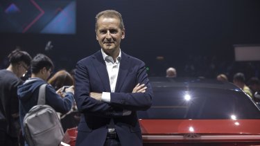 VW chief Herbert Diess has a lot of catching up to do.