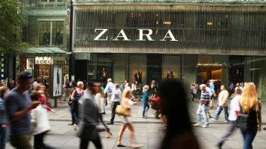 "Clothing giant Zara was originally going to be named ""Zorba."""