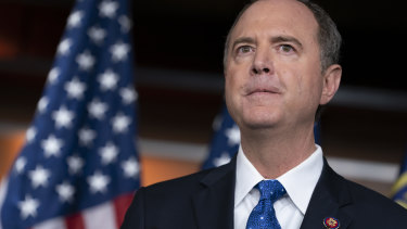 House Intelligence Committee chairman, Democrat Adam Schiff.