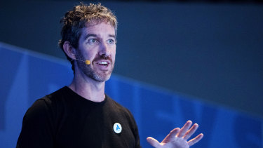 Atlassian co-founder and co-chief executive Scott Farquhar wants employees to be able to work from anywhere.