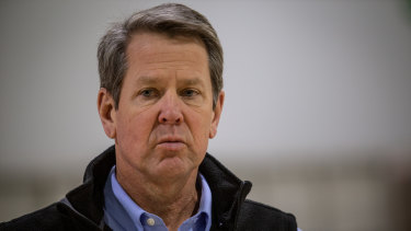 Georgia Governor Brian Kemp has rebuffed Donald Trump's efforts to overturn Joe Biden's victory in the state.