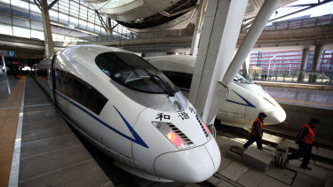 The debate about high-speed rail often rises during election campaigns.