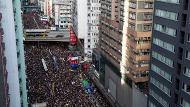 Hundreds of thousands of mostly peaceful protesters took to the streets for the third day in recent weeks.