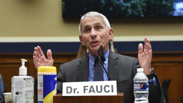 Dr Anthony Fauci - who is running the Moderna trial - later said he didn't like the company's early release of incomplete data, according to an interview published by the STAT health news service.