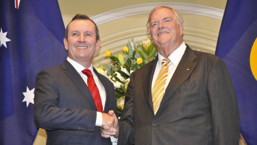 "Done deal: Premier Mark McGowan's third budget includes more money for WA Governor Kim Beazley's ""expanded role""."