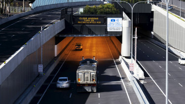 Traffic on the new M4 East has been higher than Transurban expected.