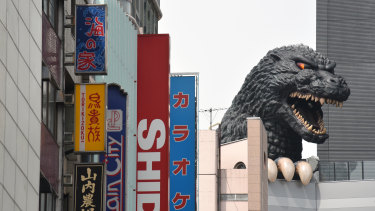 The radiation-breathing, building-stomping Godzilla is set to descend on the Gold Coast.