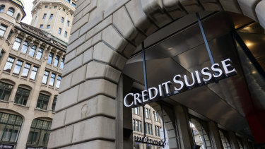 Credit Suisse's share price has fallen more than 10 per cent since it announced its supply-chain funds were suspended on March 1. It has warned warned it may have to book a charge over its dealings with Greensill.