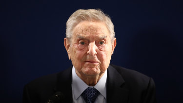 George Soros, who has long been a target of conspiracy theories, is now being falsely accused of orchestrating and funding the protests over police killings of black people that have roiled the United States.